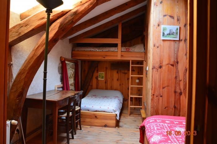 Petite Chambre Montagne 4 Couchages